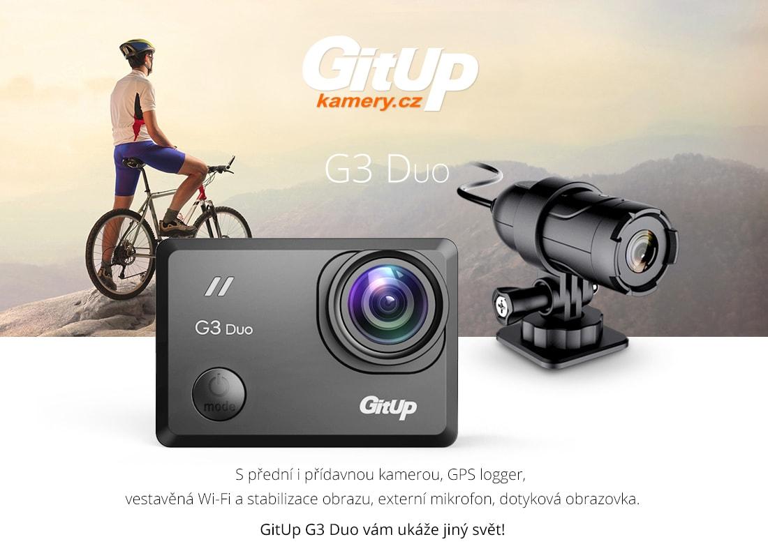 gitup g3 duo kamera