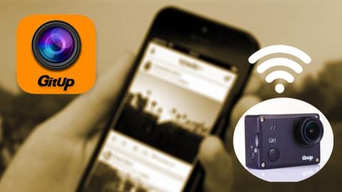 Mobilní aplikace GitUp™