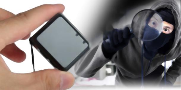 Nejmenší vyhledávací zařízení do auta / mini GPS lokátor RF-V8