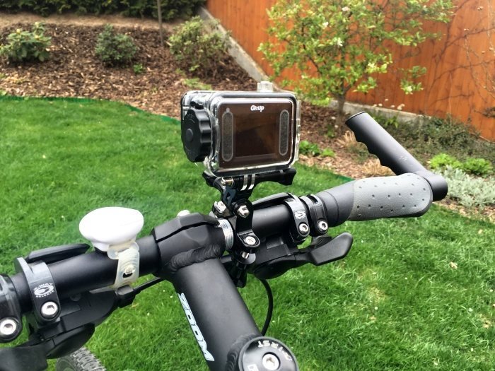 držák kamery na kolo