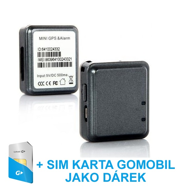 lokator karta Nejmenší GPS Tracker lokátor RF V8 GSM/GPRS/GPS | GitUpkamery.cz lokator karta