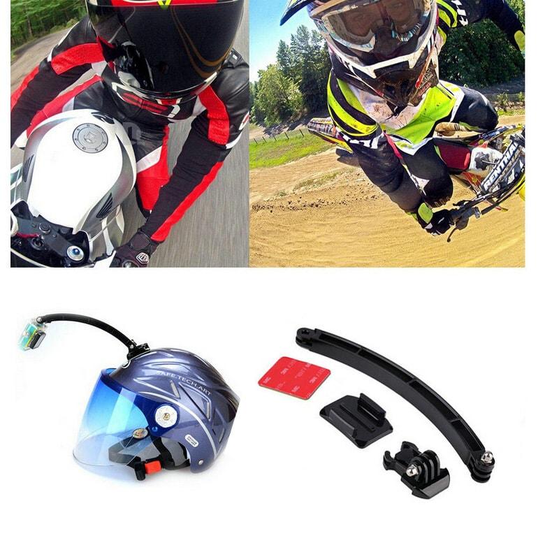 Držák outdoorové kamery na helmu  bb6e45b245