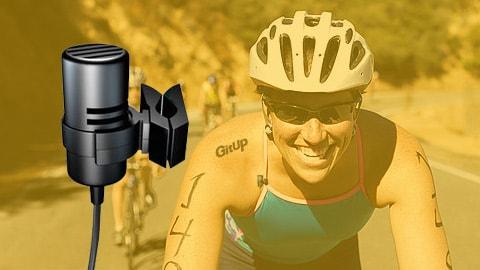 externí mikrofon akční sportovní kamery Gitup