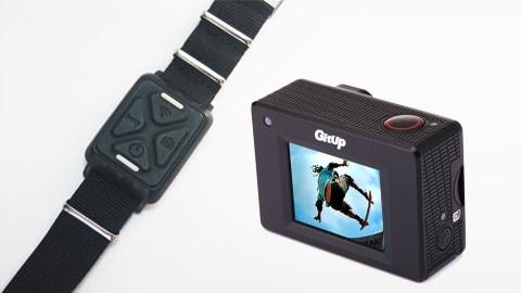 dálkové ovládání akční sporotvní kamery GitUp